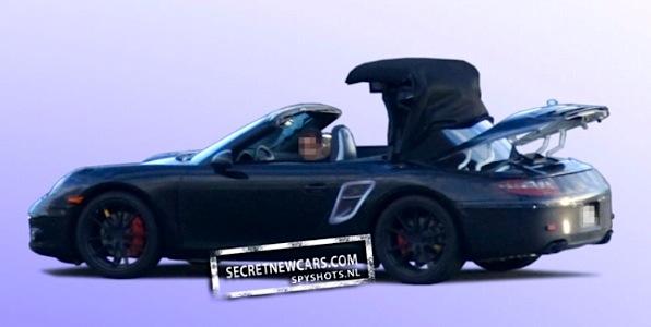 Porsche S New Soft Hard Top