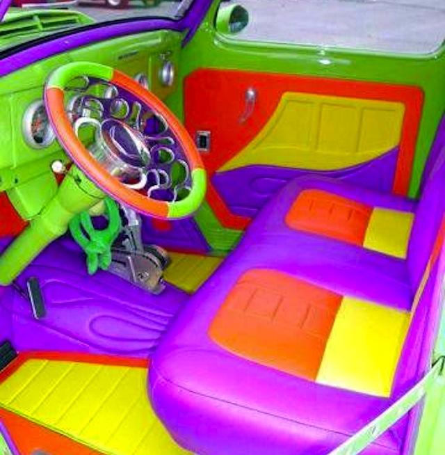 For More Crazy Car Interiors Check Out