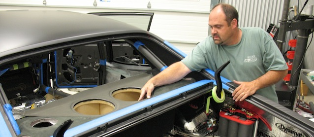 Auto Upholstery - The Hog Ring - Tracy Weaver Recovery Room Hot Rod Interiors