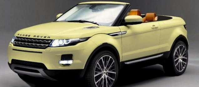 Evoque The World S First Convertible Suv