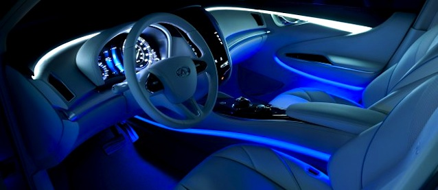 use of leds to rise in car interiors by 2016. Black Bedroom Furniture Sets. Home Design Ideas