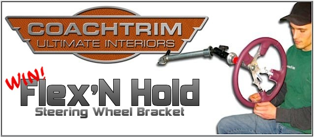 This Week Win a Coachtrim Flex'N Hold!
