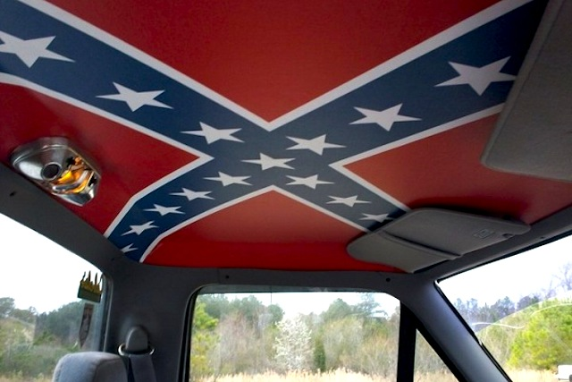 Diy Confederate Flag Truck Headliners The Hog Ring