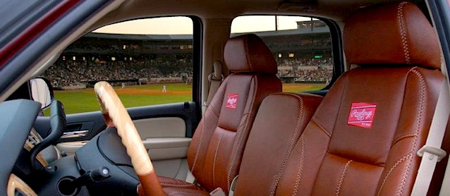 Katzkin Rawlings Baseball Seat Covers The Hog Ring