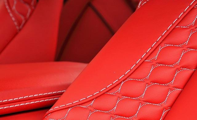 Aston Martin S Vanquish Hourglass Stitch