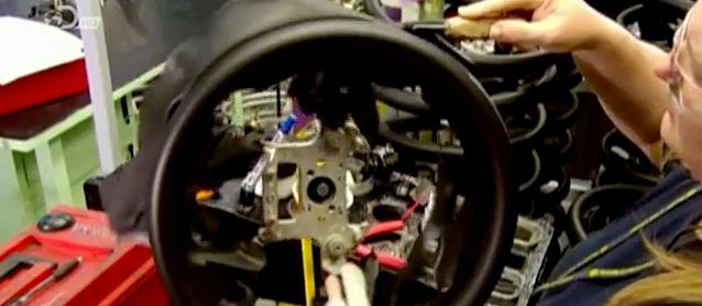 How OEMs Wrap Steering Wheels in Foam