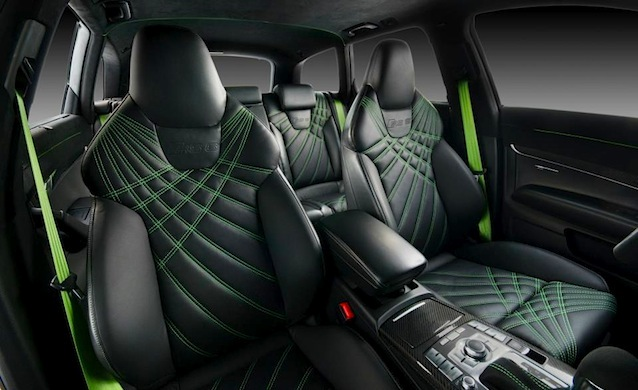 Photo custom trimmed audi rs 6 for Custom automotive interior designs