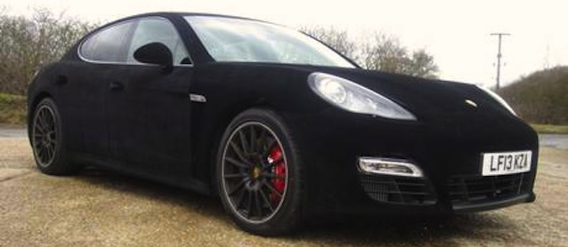 The Hog RIng - Auto Upholstery Community - Velvet Wrapped Porsche Panamera