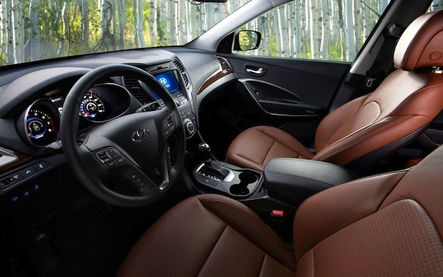 The Hog Ring - Auto Upholstery Community - 2013 Hyundai Santa Fe Sport Interior