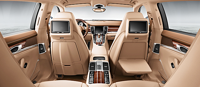 The Hog Ring Auto Upholstery Community 2017 Porsche Panamera Turbo Executive Leather Interior