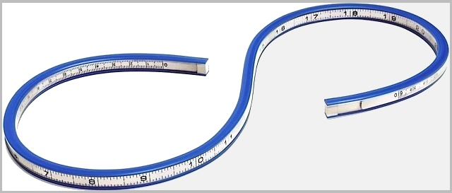 The Hog Ring - Auto Upholstery Community - Flexible Curve Ruler2