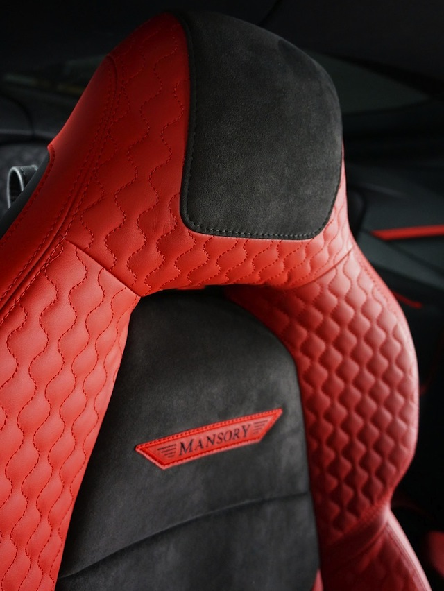 The Hog Ring - Auto Upholstery Community - Mansory Stallone Interior 3