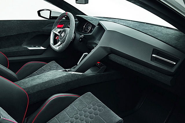 The Hog Ring - Auto Upholstery Community - VW Golf Design Vision GTI Interior 2
