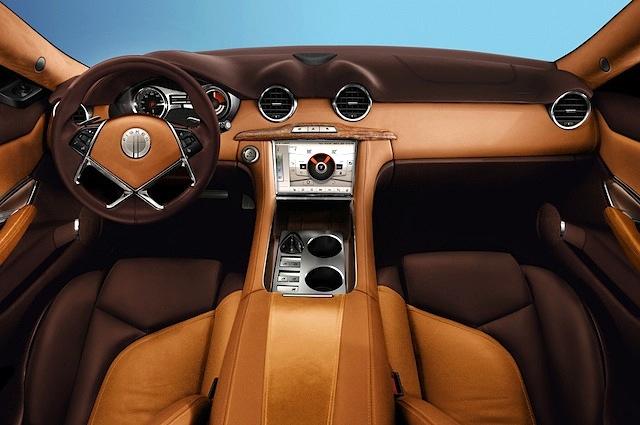 Auto Upholstery - 2012 Fisker Karma Interior