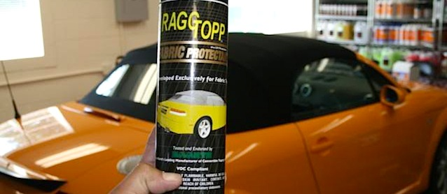 Auto Upholstery - Convertible Top Cleaner - Ragg Topp