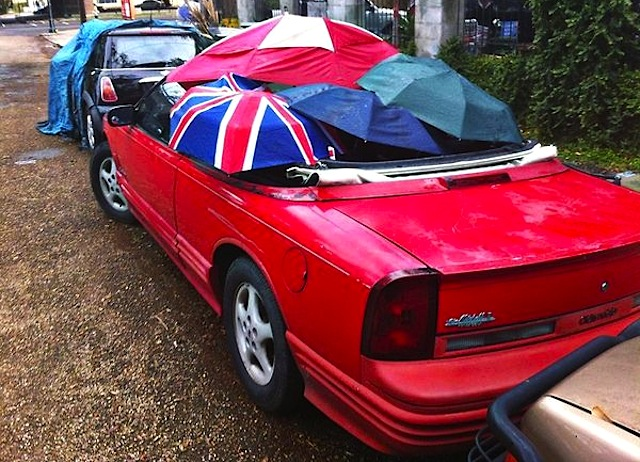 The Hog Ring - Auto Upholstery Community - Umbrella Convertible Top 1