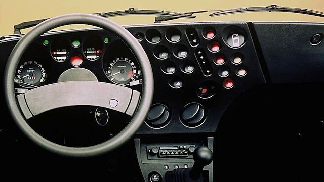 Auto Upholstery - The Hog Ring - Aerospace Lancia Beta Trevi dashboard