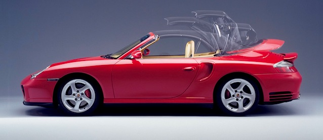 Auto Upholstery - The Hog Ring - 2004 Porsche Turbo Convertible