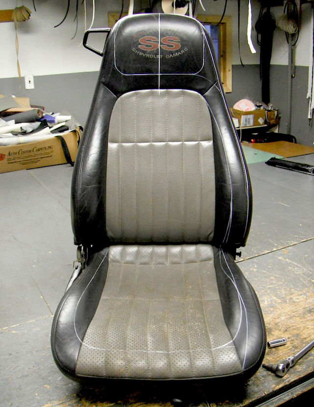 Auto Upholstery - The Hog Ring - Custom 1968 Camaro Seats - Naseem Muaddi 2