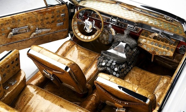 Auto Upholstery - The Hog Ring - 1964 Pontiac Bonneville Nudie Cohn
