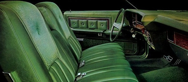 Auto Upholstery - The Hog Ring - Green Car Interior