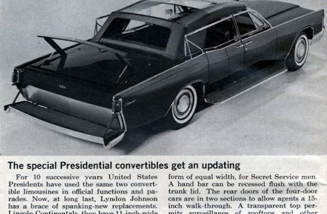 The President's Transparent Convertible