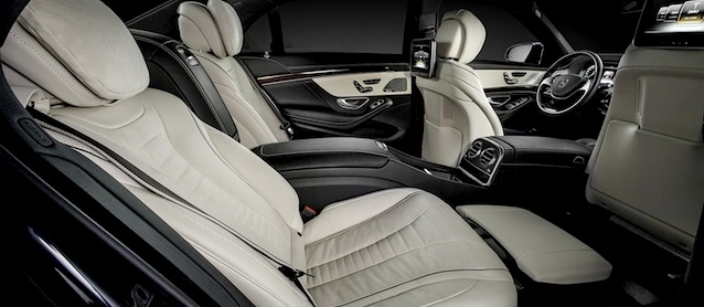 Auto Upholstery - The Hog Ring - Mercedes-Benz S-Class