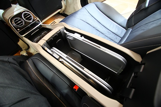Auto Upholstery - The Hog Ring - 2014 Mercedes-Benz S-Class Table
