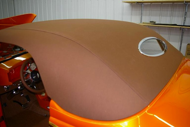 Auto Upholstery - The Hog Ring - Cutters Custom Stitchin Inc