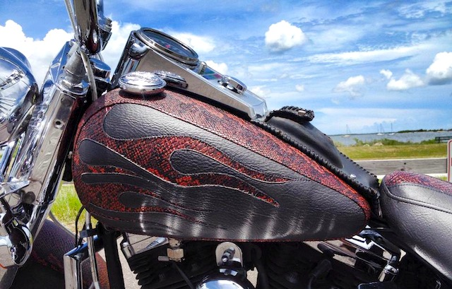 Auto Upholstery - The Hog Ring - Murray Designs, Inc Motorcycle