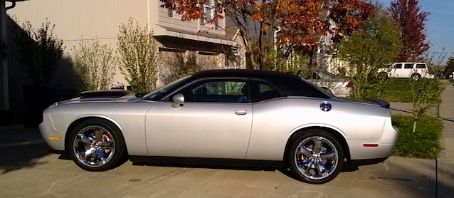 Hot Or Not Dodge Challenger Vinyl Tops