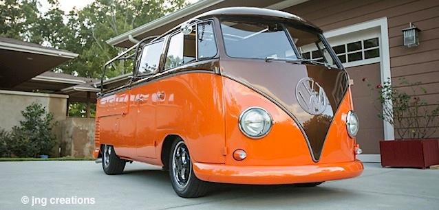 JNG Creations 1961 VW Bus Resto-Rod