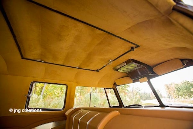 Auto Upholstery - The Hog Ring - VW Bus
