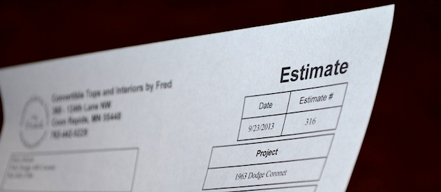 Estimating 101: What You Need to Know