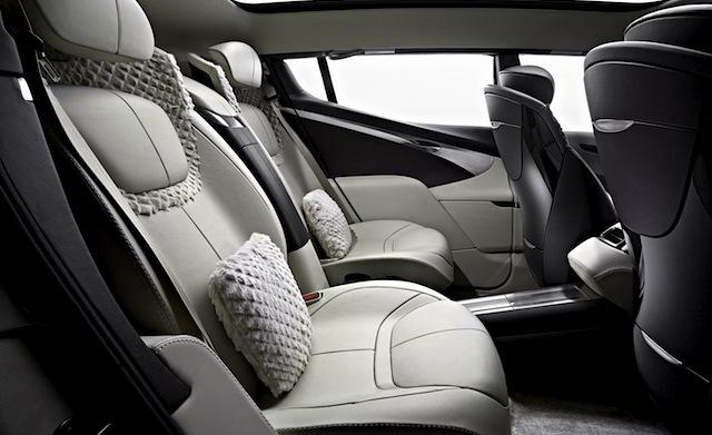 Auto Upholstery - The Hog Ring - Aston Martin Lagonda Concept