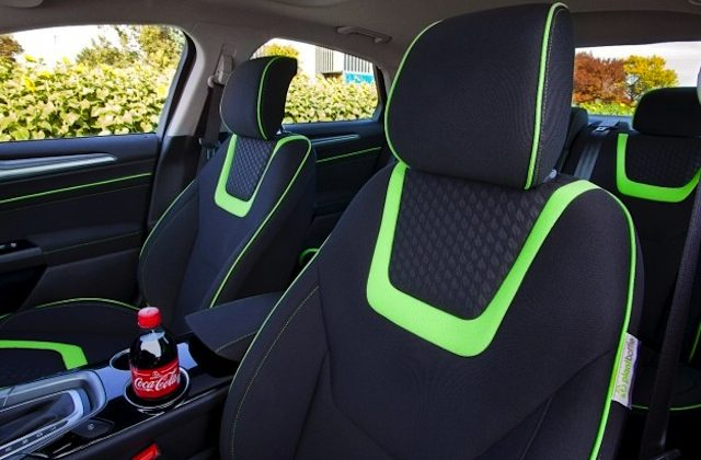 Auto Upholstery - The Hog Ring - Ford Fusion Energi Coca Cola