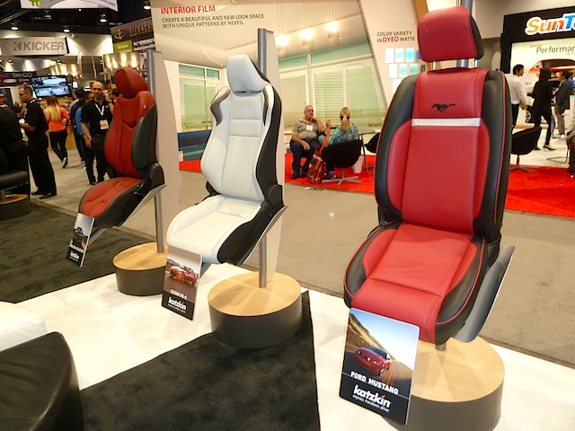 Auto Upholstery - The Hog Ring - Katzkin Sema 2013
