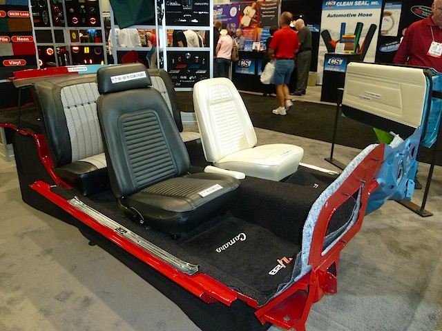 Auto Upholstery - The Hog Ring - SEMA 2013 PUI Interiors