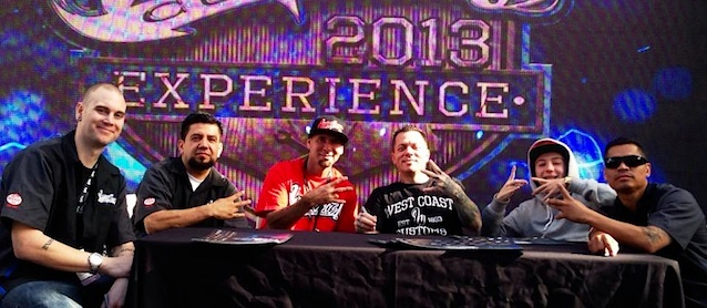 West Coast Customs Reps at SEMA 2013