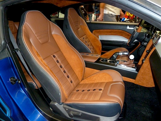 Auto Upholstery - The Hog Ring - SEMA 2013 TMI Products