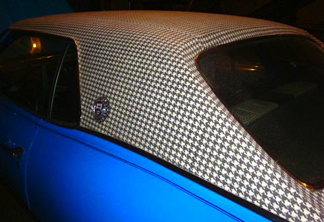 Auto Upholstery - The Hog Ring - Mercury Cougar Houndstooth