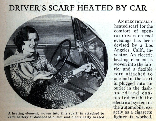 Auto Upholstery - The Hog Ring - Car Heat Scarf
