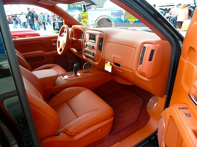 best truck interiors at sema 2013 part 1 the hog ring