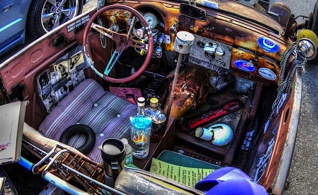 Auto Upholstery - The Hog Ring - Rat Rod Interior