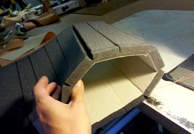 Auto Upholstery - The Hog Ring - Brent Parker Motor Trimming - 1974 Lamborghini Espada