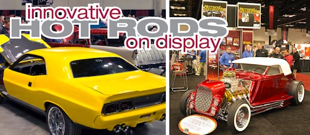 Auto Upholstery - The Hog Ring - 2014 Hotrod & Restoration Trade Show