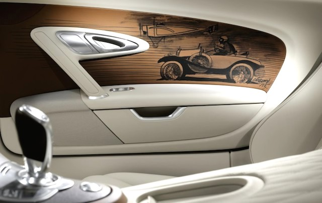 Auto Upholstery - The Hog Ring - Bugatti Veyron 16.4 Grand Sport Vitesse Black Bess