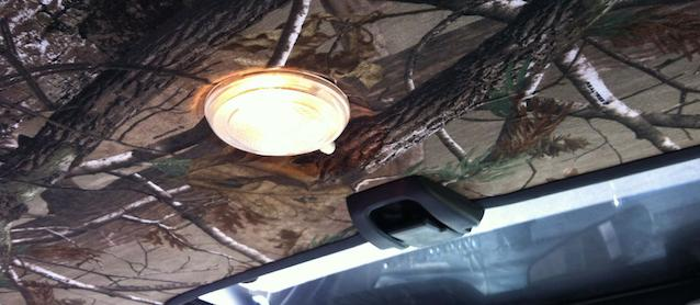 Auto Upholstery - The Hog Ring - Camo Headliner