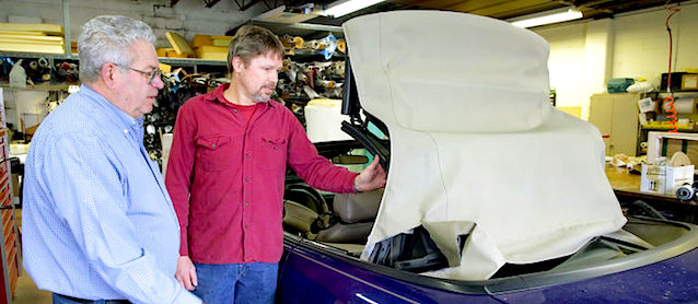 Auto Upholstery - The Hog Ring - Custom Auto & Upholstery Center