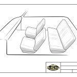 Auto Upholstery - The Hog Ring - Design Studio - Generic Bucket Seat Interior